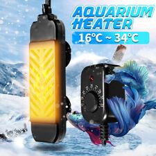 25-300W Mini Aquarium Heater Submersible Fish Tank Adjustable Water Thermostat