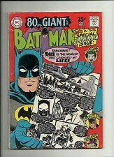 BATMAN #198 1968  DC COMICS 80 PAGE GIANT  ORIGIN! CLASSIC JOKER & CATWOMAN  FN-