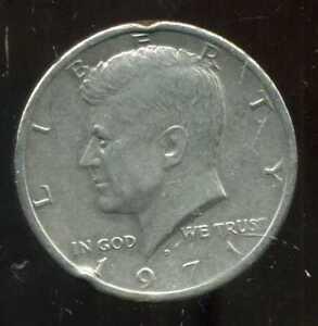USA half  dollar  1971 D