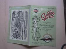 1903.publicité  cycles motocyclette Lux.Jussy Saint Etienne.