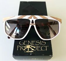 vintage ALPINA Genesis G82 gold sunglasses W.Germany rare medium unisex NOS