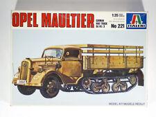Vintage ITALERI 551 KIT 1/35 OPEL MAULTIER German Half Track Sd.Kfz.3
