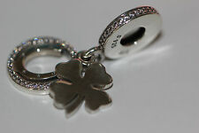 AUTHENTIC NEW PANDORA 2017 LUCKY DAY CHARM DANGLE 792089cz GIFT BOX S925 ALE