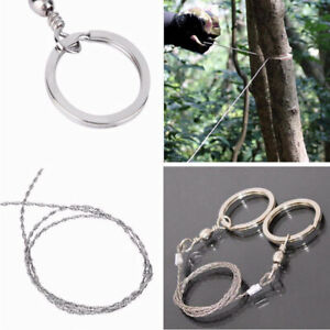 Portable Stainless Steel Wire Saw Hand Chain Saw Cutter Hunting Camping Hiking
