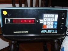 Bausch & Lomb Acu-Rite 2 Digital Position Readout