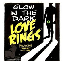 3x Glow in The Dark Penis Love Ring Impotence Erection Sex Aid Erectyle Dysfunct