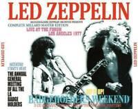 Led Zeppelin L.A.Forum 1977 Badgeholders Weekend  Press Japan  3xCD F/S