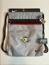 Nike Oregon Ducks Sport Gym Sack III Grey Puddles Unisex Puddles Bag