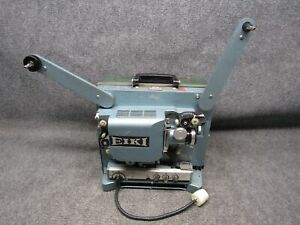 Vintage EIKI RST-0 16mm Motion Picture Sound Projector W/ Lamp & Case