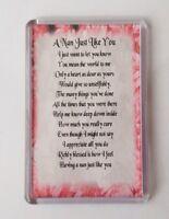 Nan Poem Fridge Magnet. Special Keepsake, Christmas Gift, Birthday Present.