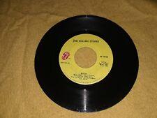 The Rolling Stones Brown Sugar/ Bitch Record Vinyl 45rpm