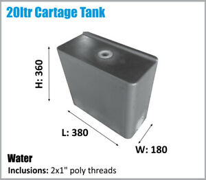 WATER TANK. 20LTR. POTABLE WATER. ASK FOR FREIGHT PRICE.