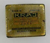 Vintage Cigarette Tin KRAJ #5 German Mischvngen Besonderer Eigenart Papers