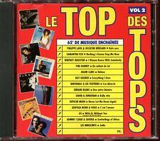 LE TOP DES TOPS VOLUME 2 - CD COMPILATION 1987 [1389]
