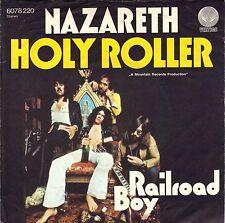 """7"""" Nazareth – HOLY ROLLER/Railroad boy // Germany 1975"""