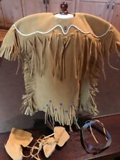 American Girl Doll Kaya Dress, Boots And Headband New