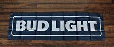 Bud Light Banner Flag 1.5' x 5' Budweiser Beer Bar Restaurant Advertising Dilly