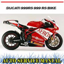DUCATI 999RS 999 RS BIKE 2004+ WORKSHOP REPAIR SERVICE MANUAL ~ DVD