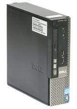 DELL Optiplex 7010 i5 3570S 3,1GHz 8GB 256GB SSD DVD-RW Win 10 Pro Desktop USFF