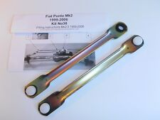 Today FIAT PUNTO 1999 to 2006 NEW WIPER MOTOR LINKAGE PUSH ROD KIT Wipex kit 38
