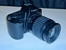 Canon EOS Rebel 35mm Camera With Canon 80-200mm Lens~ TESTED & WORKS! FRESH BATT
