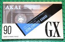 AKAI  GX   90                     BLANK CASSETTE TAPE (1) (SEALED)