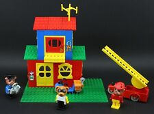 LEGO Fabuland 3669 Fire and Police Headquarters Complete