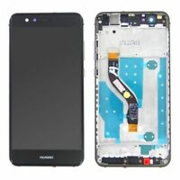 DISPLAY LCD + TOUCH SCREEN VETRO VETRINO PER HUAWEI P10 LITE NERO BLACK