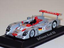 1/43 Minichamps Audi R8 Infineon car #1 24 Hours LeMans 2002 Dealer Edition