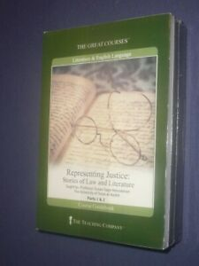 Teaching Co Great Courses CDs  :       REPRESENTING JUSTICE     new & sealed