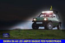 Led Fiat Panda barra barre fari per tuning 4x4 luci luce auto anteriore kit con