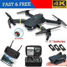 Drone X Pro WIFI FPV 4K HD Camera 3 Batteries Foldable Selfie RC Quadcopter NEW