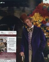 GENE WILDER SIGNED AUTOGRAPHED WILLY WONKA COLOR 8x10 PHOTO JSA SPENCE COA