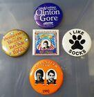 Bill Clinton Inauguration 1993 button lot of 5 pinbacks