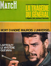 Paris Match n° 967 du 21 octobre 1967 - Che Guevara / Johnny Hallyday & Sylvie