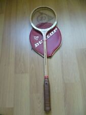 Vintage Dunlop Maxply Fort Wooden Squash racket Racquet international model