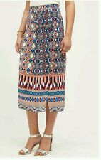 NWT Sz 12 Anthropologie Wrapped Silk Skirt By Hd In Paris L Size Large