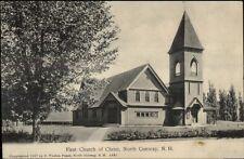 North Conway NH Church c1910 Postcard