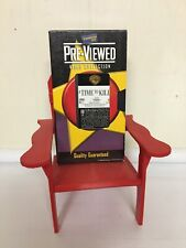 Time To Kill PreViewed Blockbuster VHS Tape Rental Defunct Video Store Prop Blue