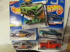 Hot Wheels Lot of (5) Chevy Truck Types!! All Different Lot #3