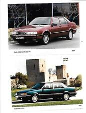 "SAAB 9000 GRIFFIN GRIFONE 1993 e 9000 3.0 V6 1996 PRESS PHOTO ""SALES BROCHURE"""