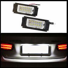 Für Mini Cooper R56 R57 R58 R59 2x LED PREMIUM Kennzeichenbeleuchtung 18 SMD