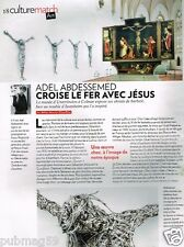 Coupure de Presse Clipping 2012 (1 page) Adel Abdessemed