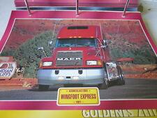 Super Trucks Schwerlastzüge USA Wingfoot Express seit 1921