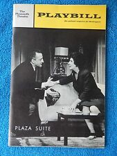 Plaza Suite - Plymouth Theatre Playbill - Opening Night - February 1968 - Scott