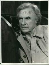 """1985 Press Photo Actor Jack Warden in """"Crazy Like a Fox"""" on CBS-TV - hcq02660"""