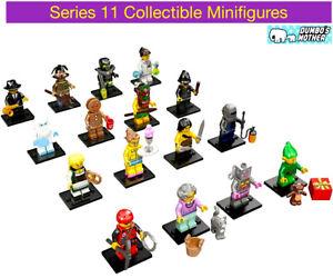 Lego Series 11 Collectible Minifigure 71002 Grandma Yeti Waitress Scarecrow NEW
