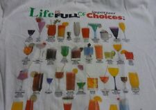 VTG Life is FULL of important Choices - Adult (XL) T-Shirt Rum Vodka Mixed Drink