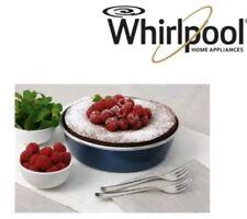 tortiera microonde piatto crisp whirlpool base 19cm bordo alto