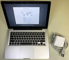 "Apple MacBook Pro 13.3"" A1278 2.5GHz Core i5 4GB RAM 1TB SSHD 10.12 Sierra READ"